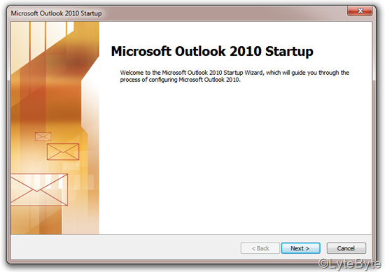 outlook2010-startup